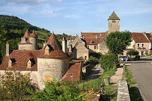 Autoire in de Vallei van de Dordogne