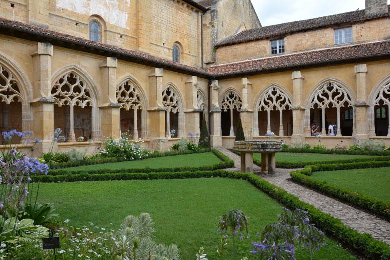 Klooster van de abdij van Cadouin