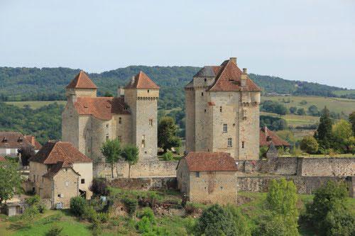 Curemonte in de Corrèze