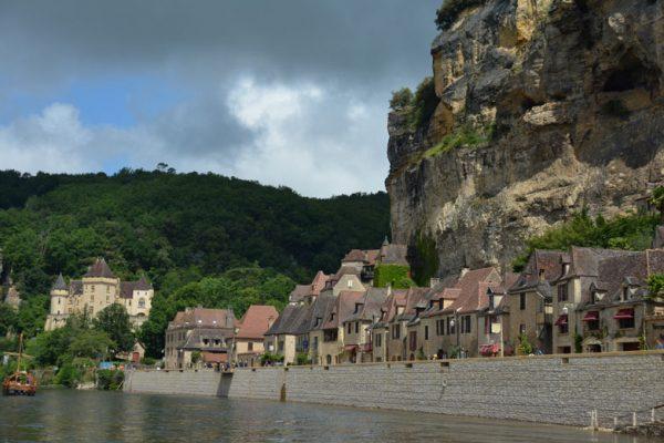La-Roque-Gageac vanop de Dordogne
