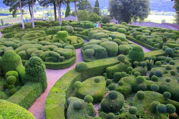 De tuinen van Marqueyssac