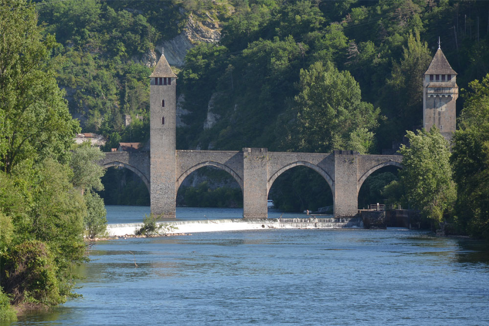 Pont Valentré in Cahors, Lot