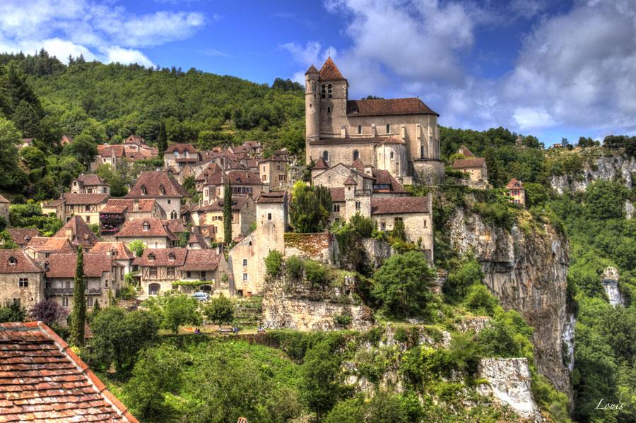 Saint-Cirq-Lapopie in de Lot