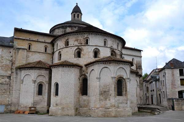 abdijkerk Sainte-Marie in Souillac