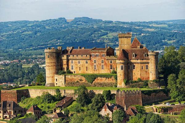 Castelnau-Bretenoux, Vallei van de Dordogne