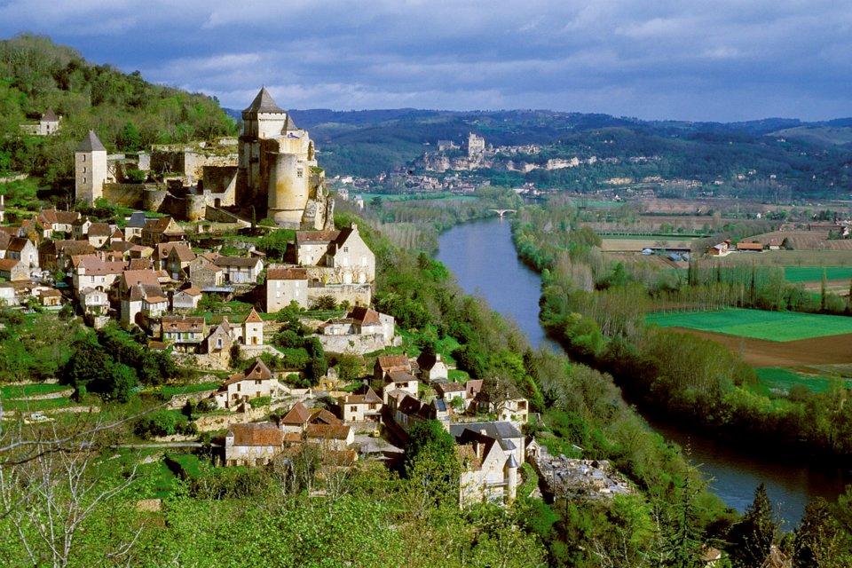Castelnaud_la_Chapelle, Dordogne vallei