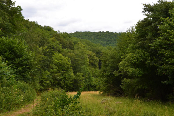 vallei op wandelafstand van Le Manoir in Souillac
