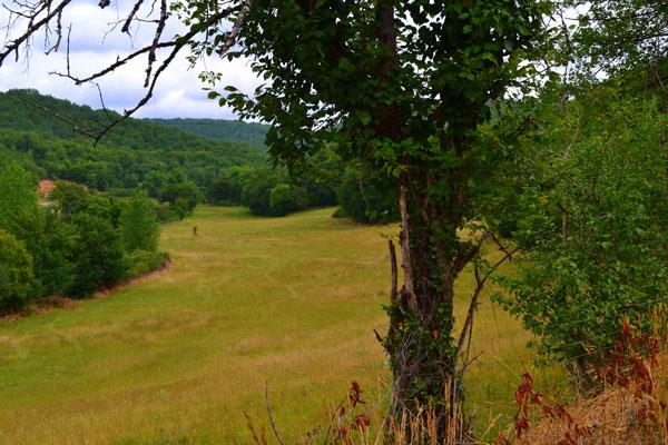 de vallei van de Boulet in Souillac