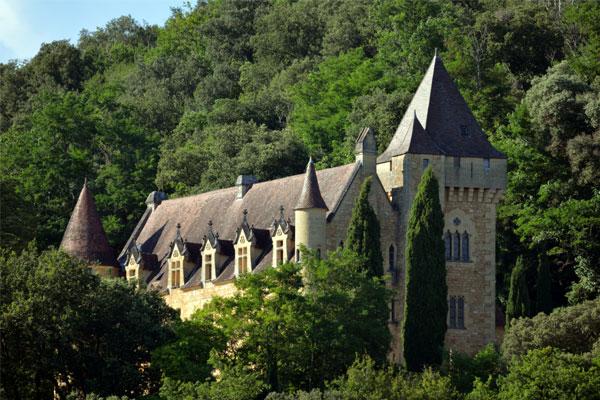 Castle near Carlux