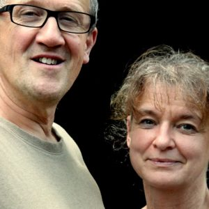 Jan and Marion, owners of Le Manoir in Souillac