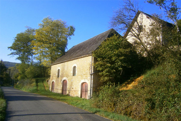 barn of Manoir in Souillac