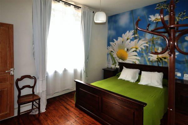 chambre a coucher chambre d'hote Mauzac Le Manoir Souillac