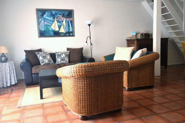 living room gite Tannat