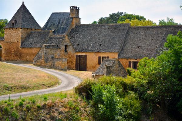 Hameau en Dordogne