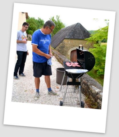 Jan au barbecue