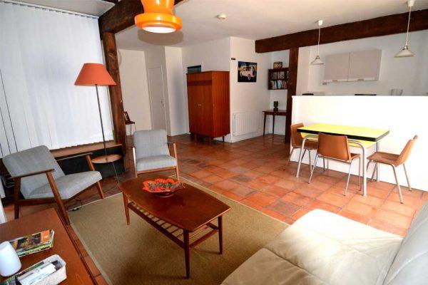 Wohn und Essbereich Ferienhaus Colombard Le Manoir Souillac