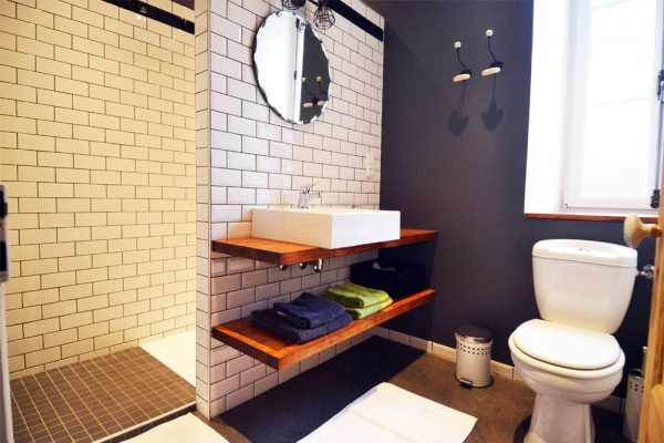 badezimmer gästezimmer braucol Le Manoir Souillac