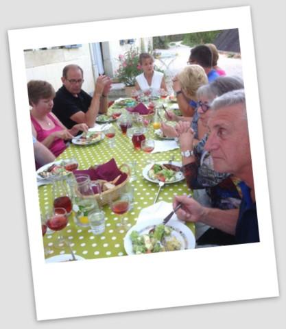 Abendessen mit Jan und Marion