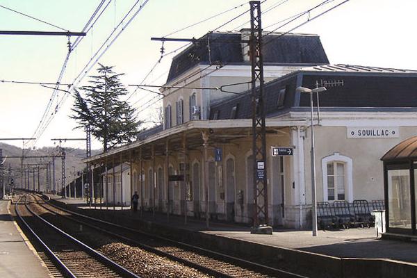 Souillac Bahnhof
