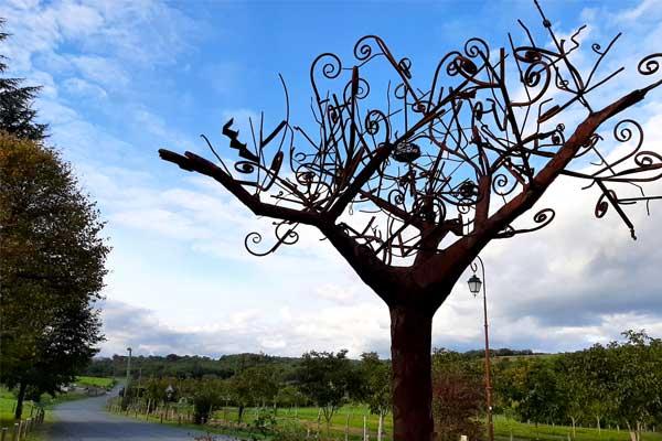 Kunstwerk van Costa in Gignac