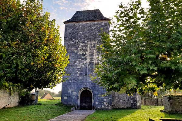 Romaans kerkje van Rignac, Lot, Occitanie