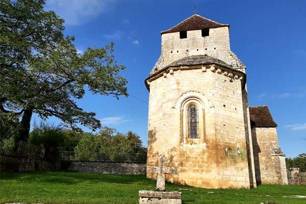 Kerkje van Murel nabij Martel