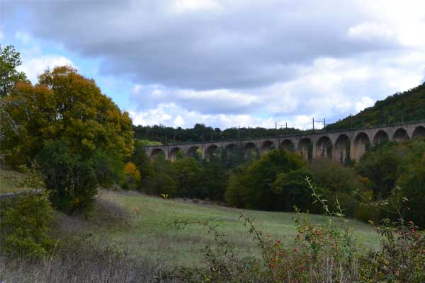 viaduct in Souillac
