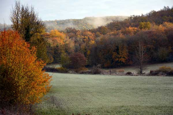 Vallei van de Borrèze in Souillac